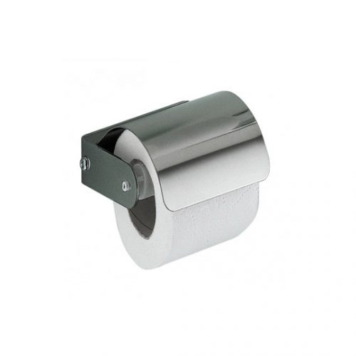 Gedy Ascot Toilet Roll Holder with flap in chrome 2725-13