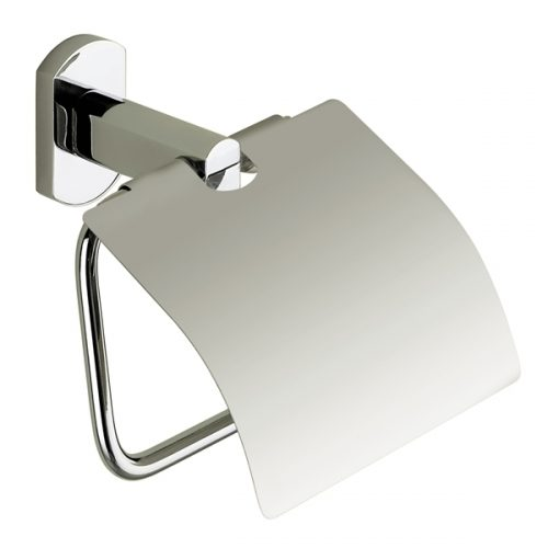 Gedy Edera Toilet Roll Holder with Flap Cover ED25-13