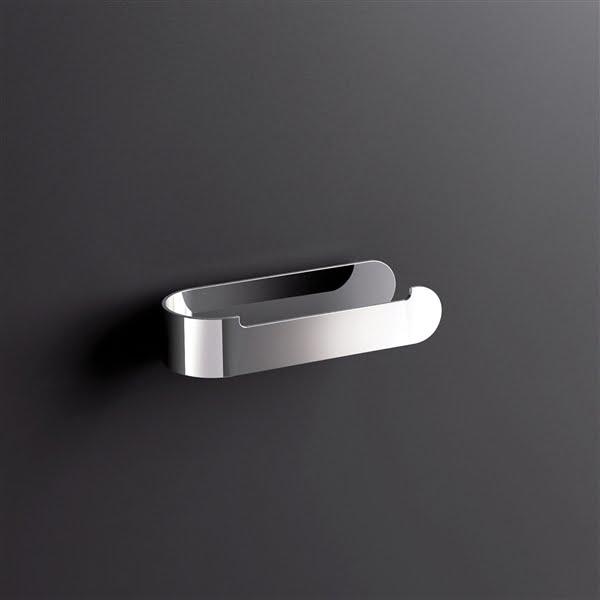 Sonia S5 Modern Open Toilet Roll Holder In Chrome 153022