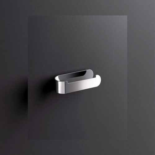 Sonia S5 Modern Open Toilet Roll Holder In Chrome 153022
