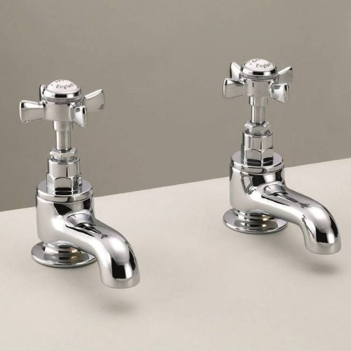St James England Handle Bath Taps SJ110CPEH