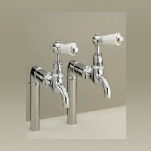 St James London Lever Bibtaps SJ130CPLLBK