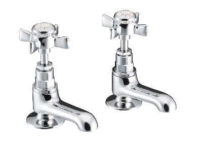 St James Collection England Handle Cloakroom Basin Taps SJ100CPEH