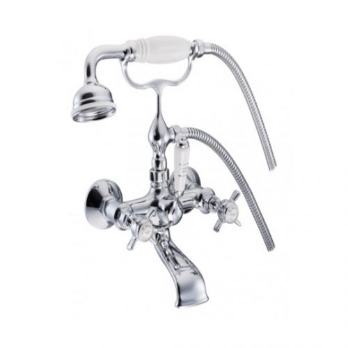 St James Wall Mounted Bath Mixer England Handle SJ322CPEHSD
