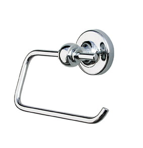 Sonia Dallas Open Toilet Roll Holder Chrome & Gold 085439