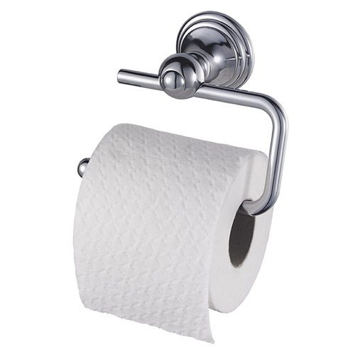 Haceka Allure Chrome Toilet Roll Holder 72.ALTRH
