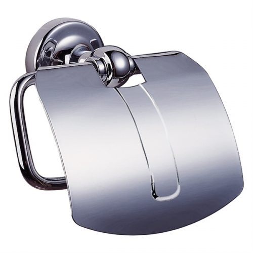 Sonia Dallas Toilet Roll Holder with a Flap Chrome 068845