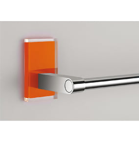 Gedy Maine Backplate set of 2 in Orange 7805-67
