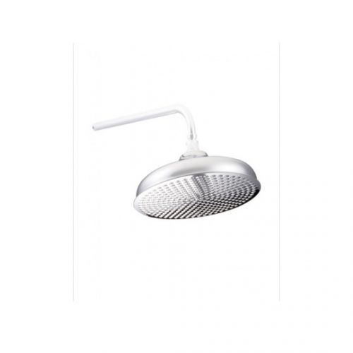 "St James Flat Faced 10"" Shower Head SJR10CPFF"