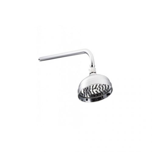 "St James Easy Clean 8"" Skirted Shower Head SJR08CPEC"