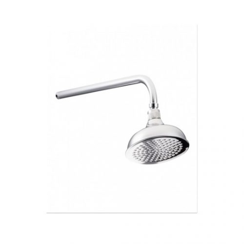 "St James Flat Faced 6"" Shower Head SJR06CPFF"