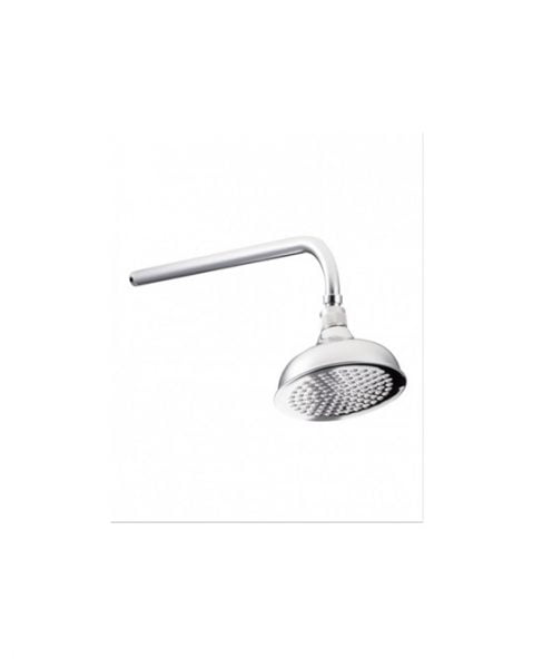 "St James Flat Faced 8"" Shower Head SJR08CPFF"