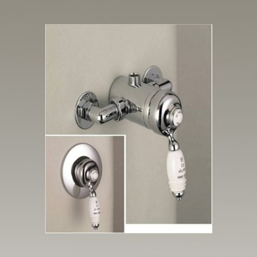 St James Exposed or Concealed Manual Shower Valve SJ720CPHL