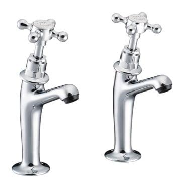 St James Sink Pillar Taps SJ120CPLHSD
