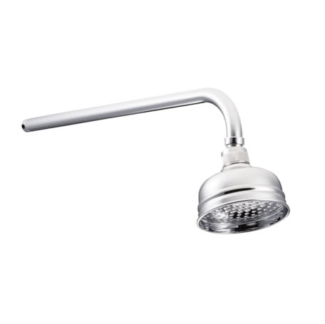"St James 4"" Skirted Shower Head SJR04CP"