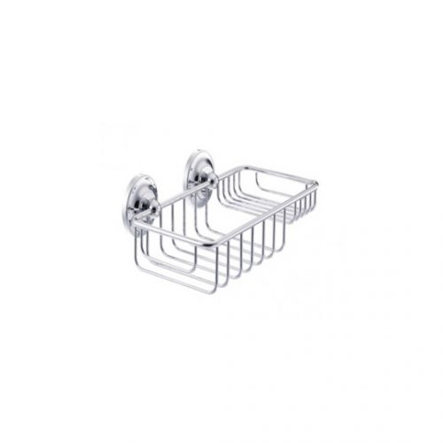 St James Wall Mounted Wire Soap And Sponge Basket SJER632CP