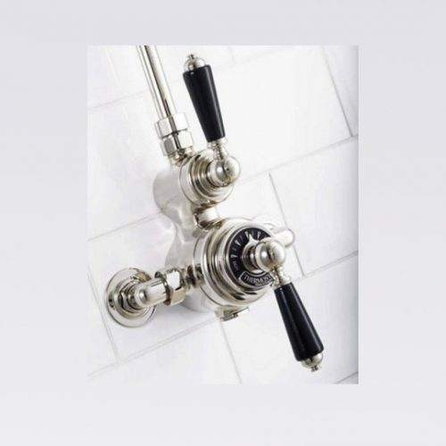 St James Thermostatic Exposed Shower Valve SJ7400CPLLBK