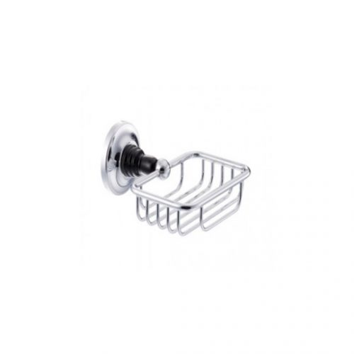 St James Wall Mounted Soap Basket SJ614CPPSBK