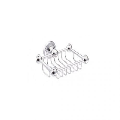 St James Wall Mounted Wire Soap Basket SJER614CP