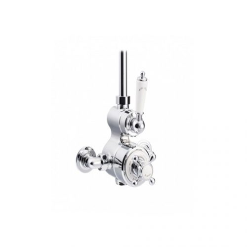 St James Classical Dual Control Exposed Thermostatic Shower Valve SJ7650CPLLLH