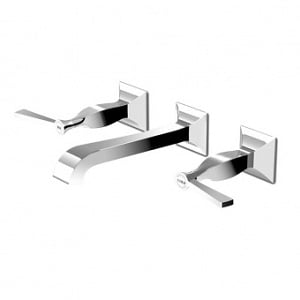 Zucchetti Bellagio Wall Mounted 3H Basin Mixer ZB2699