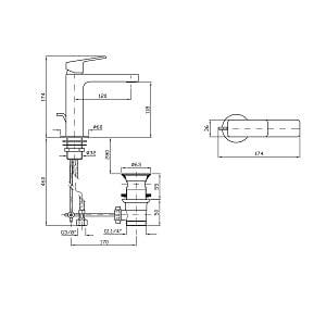 Zucchetti Jingle Single Lever Basin Mixer ZIN690