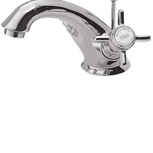 Premier Chrome Luxury Beaumont Basin Mixer With Waste I305X