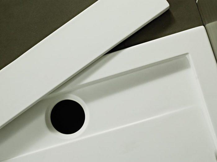 Roman Infinity matt white 1200mm x 900mm shower tray IA129