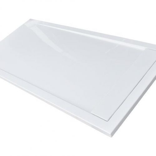 Roman Infinity white gloss 1200mm x 800mm shower tray IAG128