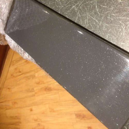 Roman Infinity shimmer grey 1200mm x 800mm shower tray