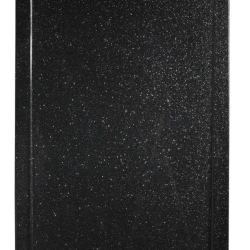 Roman Infinity shimmer black 1400mm x 900mm shower tray