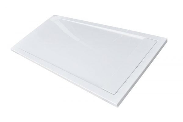 Roman Infinity gloss white 1600mm x 800mm shower tray IAG168