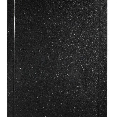Roman Infinity shimmer black 1600mm x 800mm shower tray