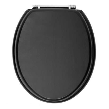 Heritage Standard Generic Traditional British Black Toilet Seat
