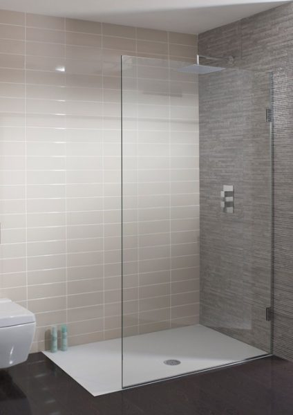 Simpsons Ten 300mm Wide Single Fixed Shower panel 1030300
