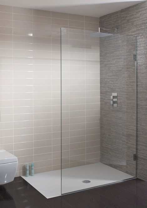 Simpsons Ten 400mm Wide Single Fixed shower panel 1030400