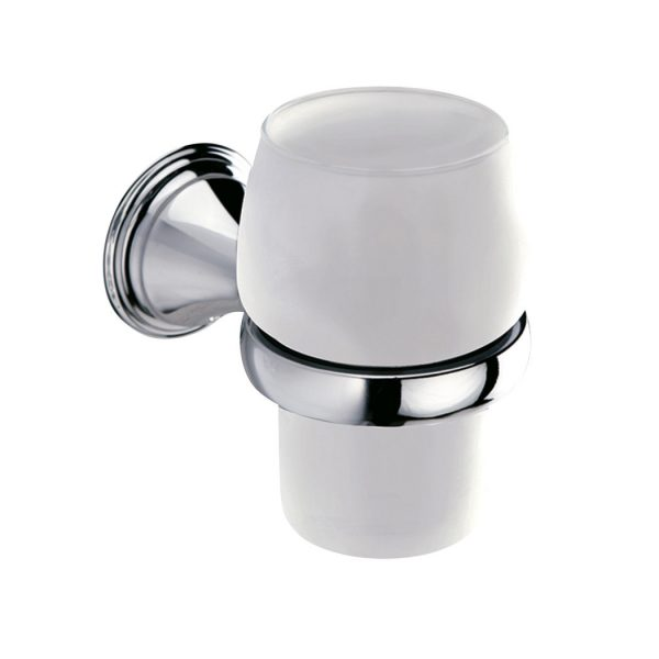 Sonia Genoa Traditional Chrome Tumbler Holder 107490