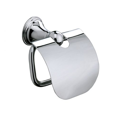 Sonia Genoa Traditional Toilet Roll Holder with Flap 107698