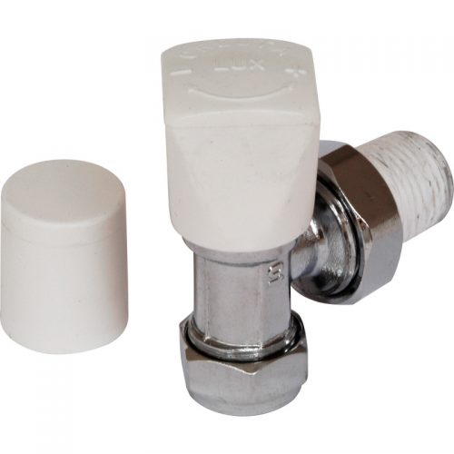 C/P Angled Thermostatic Radiator Valve Pack Ht326