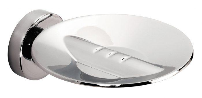 Sonia Tecno Project Modern Metal Soap Dish Chrome 116942