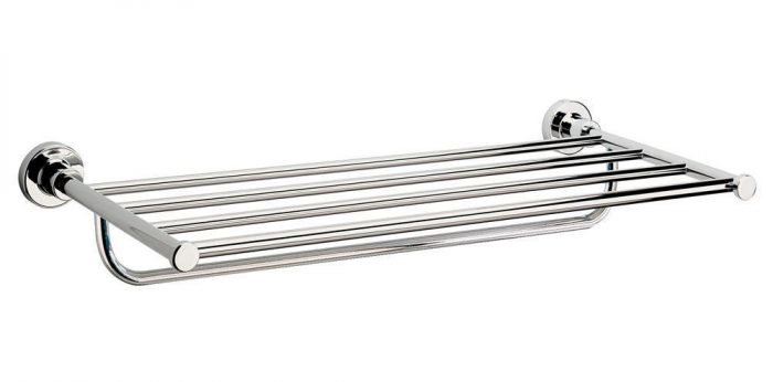 Sonia Tecno Project Modern Towel Rack in Chrome 117024