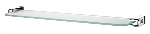 Sonia Nakar 56cm Clear Bathroom Glass Shelf 118922