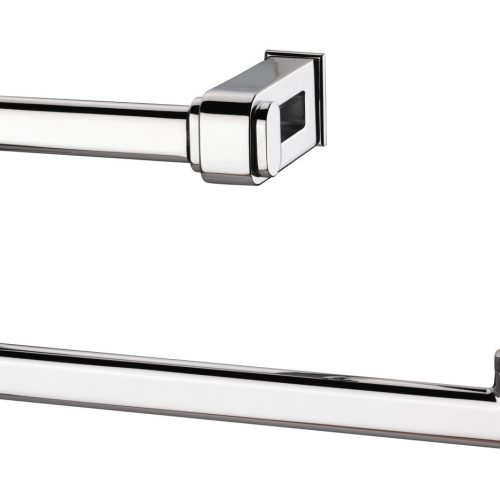 Sonia Nakar Modern Towel Ring Large in chrome 119011