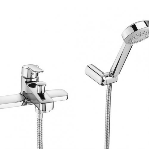 Roca Victoria Deck Mounted Bath Shower Mixer 120.V2DMBSM