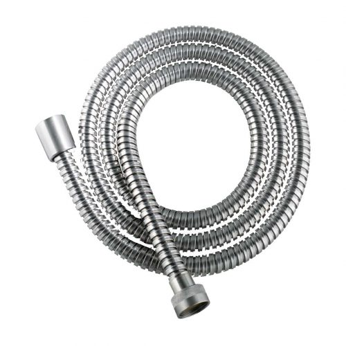 brushed stainless steel shower hose image