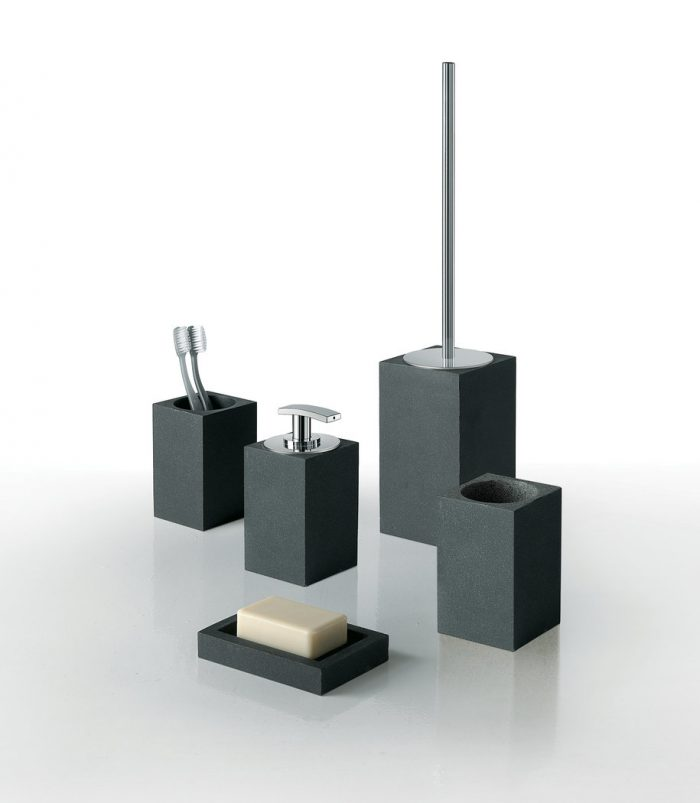 Gedy Minerva Free Standing Toilet Bruish Anthracite 1233-85