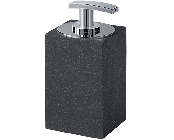 Gedy Minerva Free Standing Soap Dispenser Anthracite 1280-85