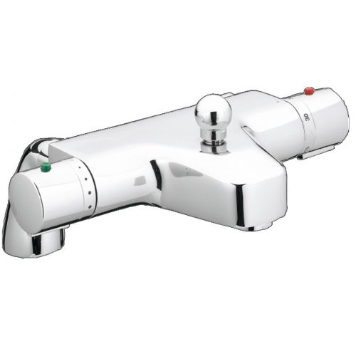 Just Taps Plus Therm Deck Bath+Shw Mix No Kit, HP 1 1281