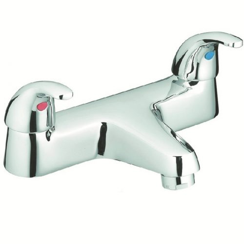 Just Taps Plus Two Lever Astra D/M Bath Filler 13223