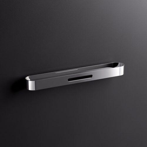 Sonia S5 Modern Design Towel Rail 45cm In Chrome 153008